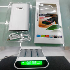 4 Slot 18650 Battery LCD Intelligent Charger And Mobile Power Bank for Cellphone