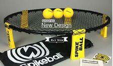 Mini Beach Volleyball Spike Ball With Equipment Net & 3 Balls.