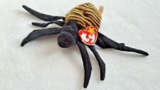 SPINNER SPIDER FIGURE PLUSH TY ORIGINAL BEANIE BABIES 1996 W/ TAGS COLLECTIBLE