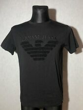 Armani Jeans Men's Black T-shirt Size M