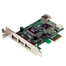 StarTech4 PEXUSB4DP 4 Port PCI Express Low Profile High Speed USB Card