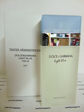 LIGHT BLUE Dolce & Gabbana D&G Perfume Women 3.3 / 3.4 oz / 100 ml TSTR WITH CAP