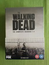 The Walking Dead The Complete Seasons 1-7 DVD Box Set - New Sealed 33 Disc Set