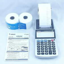 Canon Palm Printer P1-DH V 12 Digits Receipt Printing Calculator Tax & Business