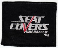 SEAT COVERS UNLIMITED - Vintage PATCH AUTOMOBILE CAR EQUIPMENT COMPANY