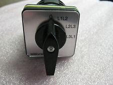 SALZER M221-61312-003F1 ROTARY CAM SWITCH