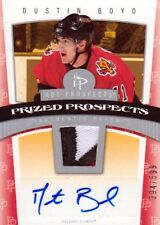 06-07 Hot Prospects PATCH AUTO ROOKIE xx/599 Made! Dustin BOYD #106 - Flames