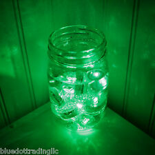 24 Pack ~ Green LED Submersible Underwater Tea lights TeaLight Flameless US Ship