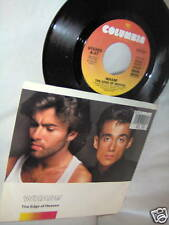 WHAM!-EDGE OF HEAVEN/BLUE(LIVE) USA pop NM/VG+VINYL RECORD 45+PS