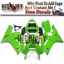 Fairings For Kawasaki ZX6R ZX-6R Ninja 636 03 04 ABS Fairing Kit Bodywork Green