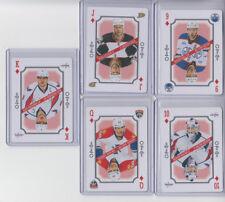 16/17 OPC Florida Panthers Jaromir Jagr Queen of Diamonds Playing Card