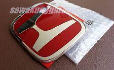JDM Red H Rear Trunk Emblem Badge Logo for JAZZ GE6 GE8 GK5 HRV / Vezel