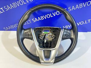 VOLVO S60 II V60 XC70 Steering Wheel Leather with Buttons 31250592 2012 11773620