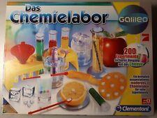 CLEMENTONI Galileo Das Chemielabor Pro7 NEU 200 Experimente