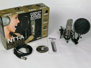Rode NT1-A Microphone and Vocal Recording Pack