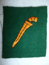 British Malaya Command Embroidered Formation Patch