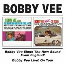 Vee, Bobby - Live On Tour / New Sounds From England CD NEU OVP