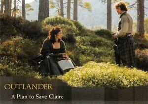 Outlander Season 1 (Cryptozoic 2016) BASE Card #29 / A PLAN TO SAVE CLAIRE