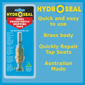 Hydroseal Tap Reseating Drill Bit Reseater Refacing Plumbing Tool 12mm