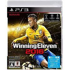 New PS3 Winning Eleven 2016 PlayStation 3 Japanese Ver. Japan Import