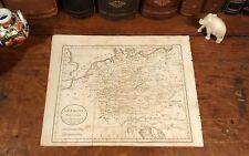 Rare Jedidiah Morse 1805 Original Antique Map GERMANY Hamburg Cologne Munich