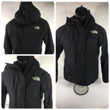 North Face Coat Size S Women's Summit Series Hyvent Alpha Jacket Black w/Hood
