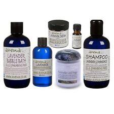 Lavender Gift Set Shampoo, Bubble Bath, Cream, Candle, Massage & Essential Oil