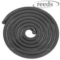 Heat Resistant Stove Rope Black For Woodburner Doors Flue Seals Reeds 6,8,10,12