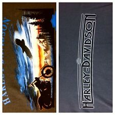 XXL Genuine Harley Davidson NORTHWEST T-Shirt Olympia WA Eagle Mountains Gray 2X