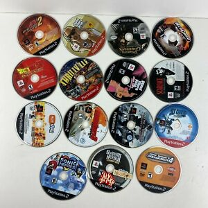 Lot Of 15 Sony PlayStation 1 PS1 Video Games Untested Scratch Discs No Cracks