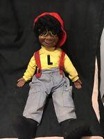 Vintage 1973 Lester- Not a Ventriloquist Doll-