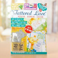 The Tattered Lace Papercraft Magazine Issue 67 With Die
