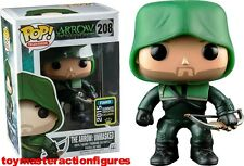 FUNKO POP DC ARROW TV 2015 SUMMER EXC THE ARROW UNMASKED #208 Figure IN STOCK