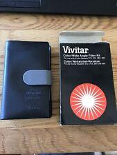 Vivitar Color/Wide Angle Filter Kit