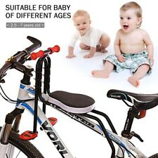 Safety Child Baby Kids Bike Bicycle Cycle Seat Front Carrier With Handrail