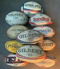 11 X RUGBY league balls size 4 & 5 JOB LOT