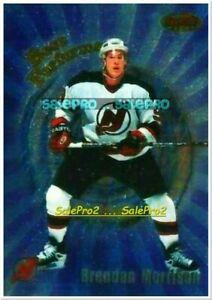 BOWMAN'S BEST 1998 BRENDAN MORRISON NHL NEW JERSEY DEVILS BEST PERFORMERS #BP9