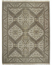 Restoration Hardware  Stratto Sand Hand Knotted Rug 6x9 Wool $2695 MSRP