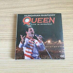 Queen _ Live in Budapest _ DVD Maxi digipak _ 2019 Italy SIGILLATO SEALED