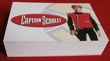 CAPTAIN SCARLET, COMPLETE BASE SET, all 54 cards - Unstoppable Cards
