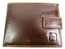 Herren-accessoires 2009 Prime Hide Oil Brown Bifold Gents Leather Wallet With Coin Purse