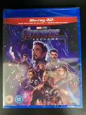 Marvel Avengers Endgame 3D Blu ray + 2D Blu ray - Official UK Stock New & Sealed
