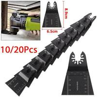 10/20PC Oscillating Saw Blade Multi 65mm Tool For Fein Multimaster Dewalt Makita