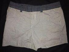 Tommy Hilfiger White/navy Printed Shorts Size 8