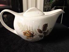 Rétro Vintage Forme Doré Théière KERNEWEK moucheté Pottery dorades rose design