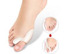 1 Pair Toe Separator Straightener Pain Relief Silicone Gel Bunion Foot Protector