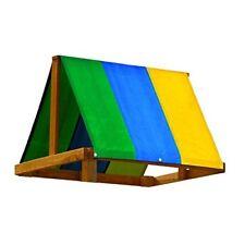 Multi-Color Tarp Swing Set Accessory Designed