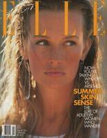 Elle July 1992 Estelle Hallyday Mary-Ellen Banashek Gianni Versace 070919DBE
