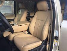 2017 2018 2019 2020 Ford F 150 Xlt Super Crew Katzkin Leather Seat Kit New Camel