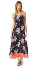 Rebecca Taylor Phlox Maxi Dress in Dark Navy Size 4 $425